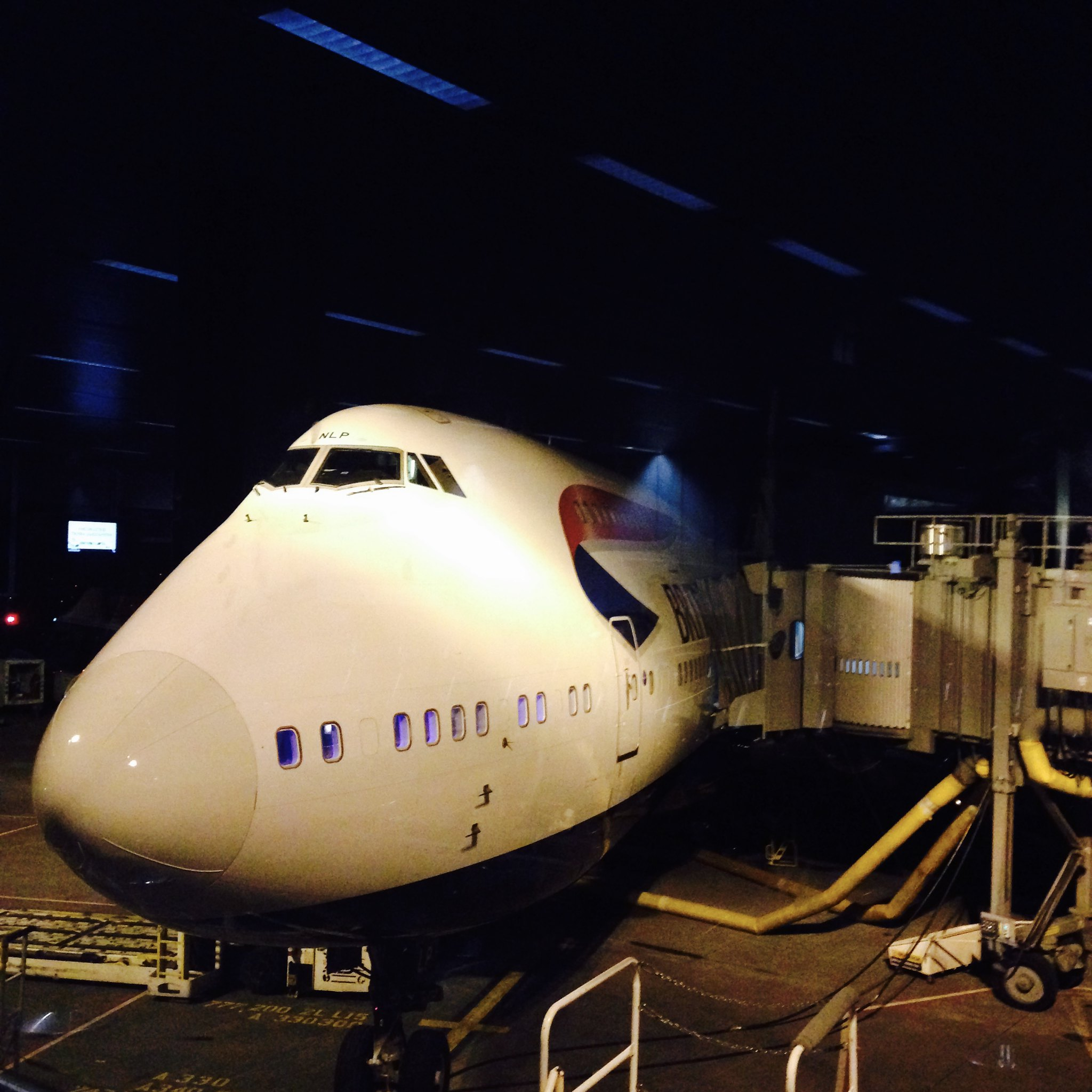 BA48 Seattle - Heathrow -- the beautiful 747