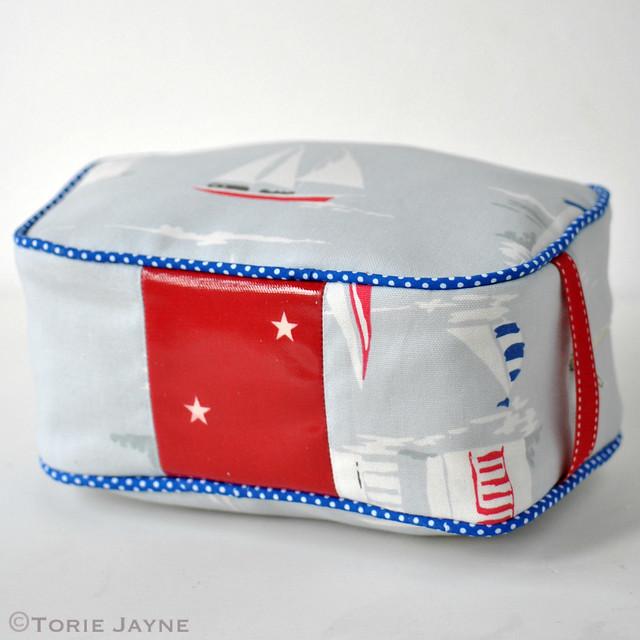 Handmade washbag tutorial 2