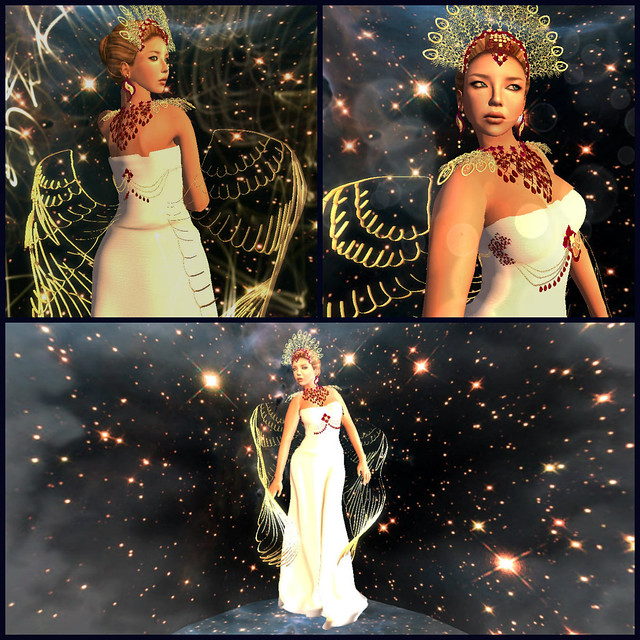 ALB Christmas Angel gown for POE8 collage