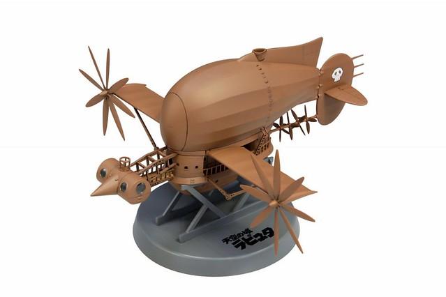 《天空之城》「虎蛾號」組裝模型作品!天空の城ラピュタタイガーモス