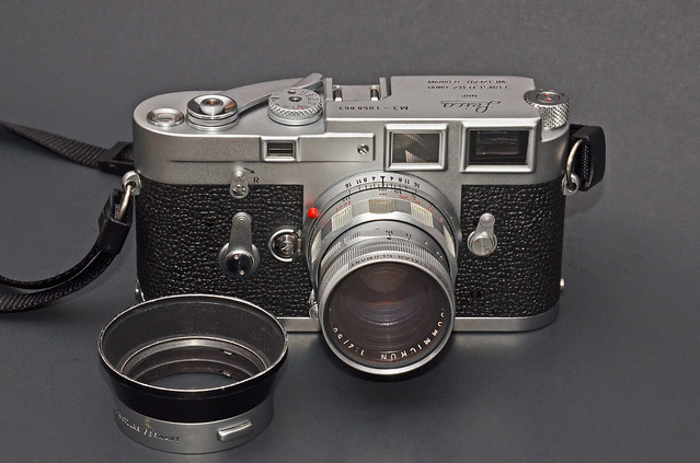Leica M3 with Summicron 50mm f/2