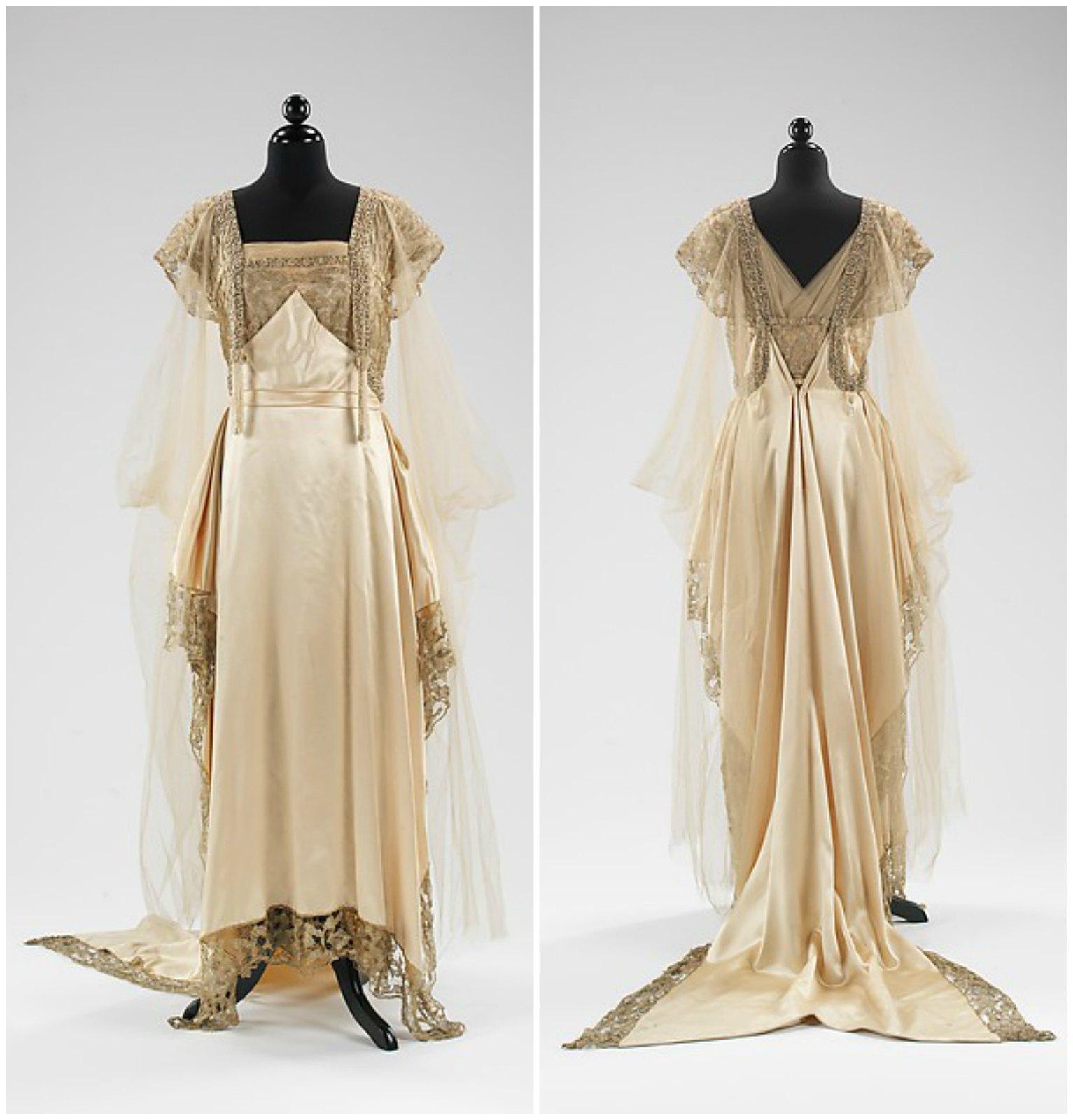1915 Callot Soeurs. Silk, metal, pearl, metmuseum