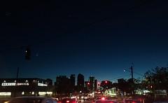 Cityline sunset