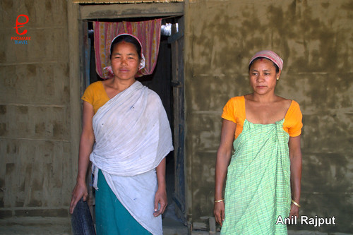 Sonowal Kachari Tribal Ladies , Majuli Island
