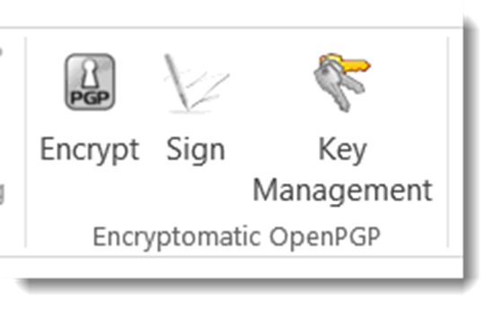 OpenPGP email encryption add-on for MS Outlook.