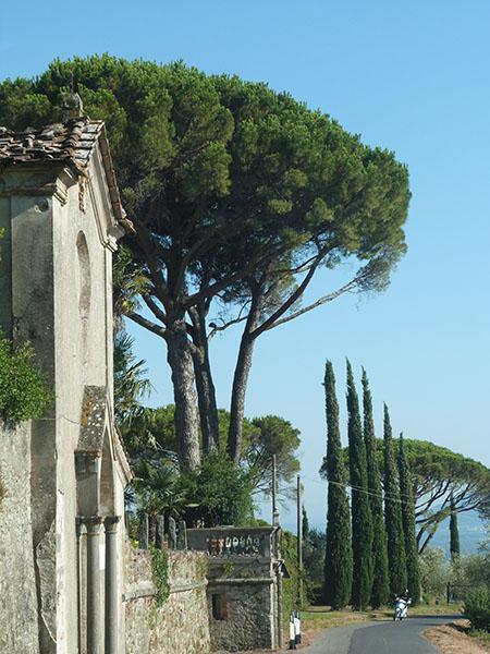 routes toscanes