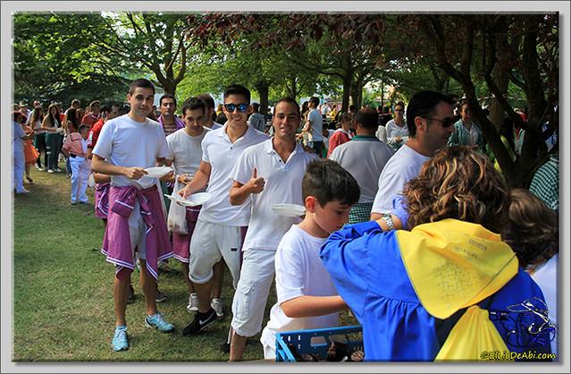 Jira campestre Entierro de San Roquín y subida de blusas (7)