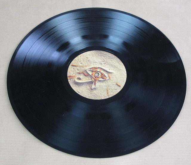 "IRON MAIDEN POWERSLAVE EEC NWOBHM GATEFOLD 12"" LP"