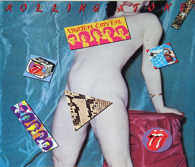 ROLLING STONES UNDERCOVER FRENCH SEXY NUDITY