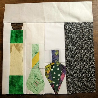 Last block for the dark arts quilt