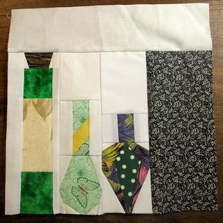 Last block for the dark arts quilt
