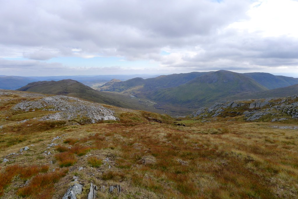 Looking down to Loch Sguid
