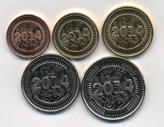 Zimbabwe Bond Coins reverse