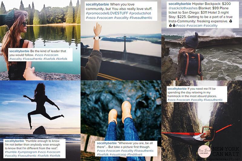 Instagram || Socality Barbie: la bambola hipster che prende in giro gli instagrammer.