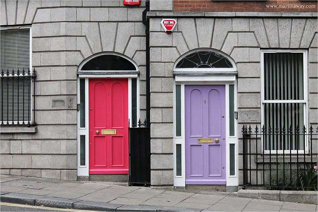 Pretty doors.