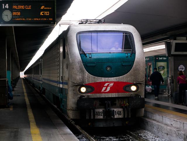 Naples Sicily train