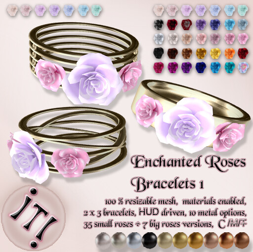 !IT! - Enchanted Roses Bracelets 1 Image