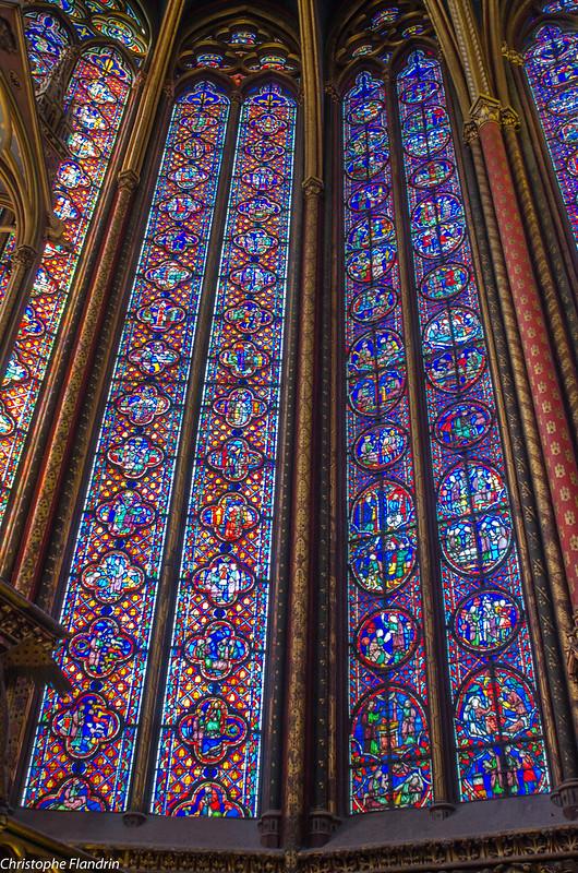 Paris - Vitraux de la Ste Chapelle