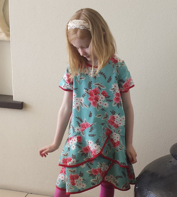 Oliver + S Pinwheel dress and tunic