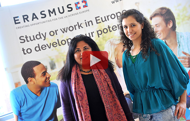 Erasmus+ YouTube channel link