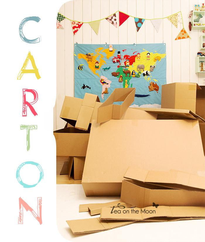 Cómo hacer un cohete de cartón