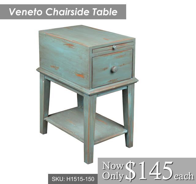 Veneto Chairside Table
