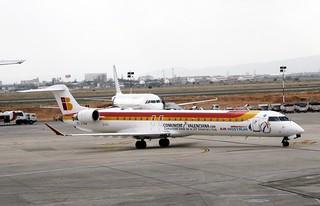 Air Nostrum EC-JTU Canadair CRJ900 Valencia (3)