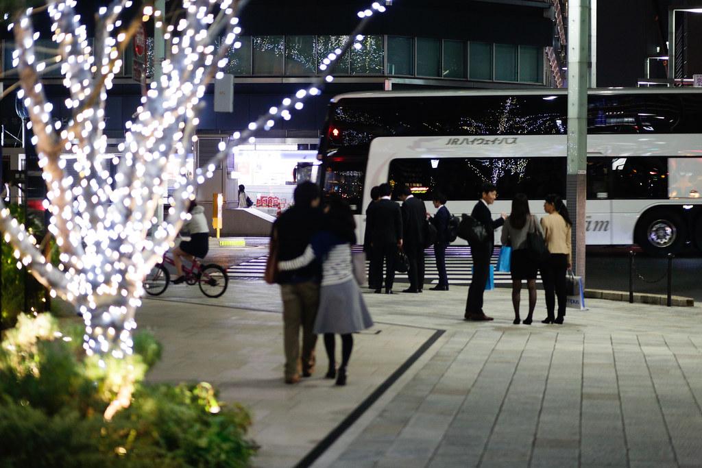 Kyobashi 1 Chome, Tokyo, Chuo-ku, Tokyo Prefecture, Japan, 0.008 sec (1/125), f/2.0, 85 mm, EF85mm f/1.8 USM