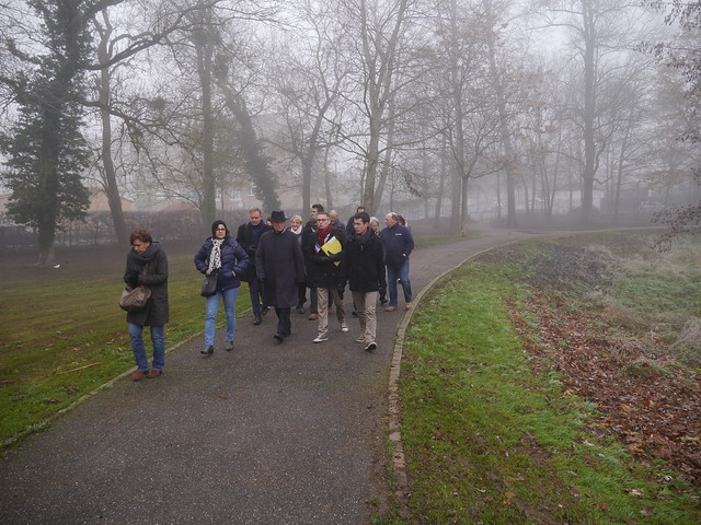 Visite du Maire de Metz - 27 novembre 2015