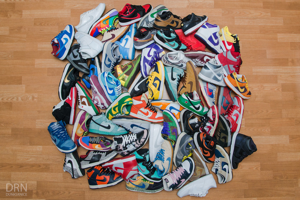 Current Dunk Collection.