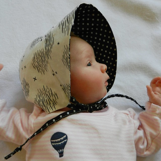 Caroline in bonnet
