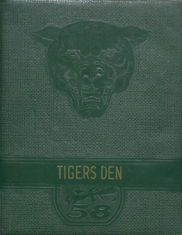 1958 Greenup County Yearbook