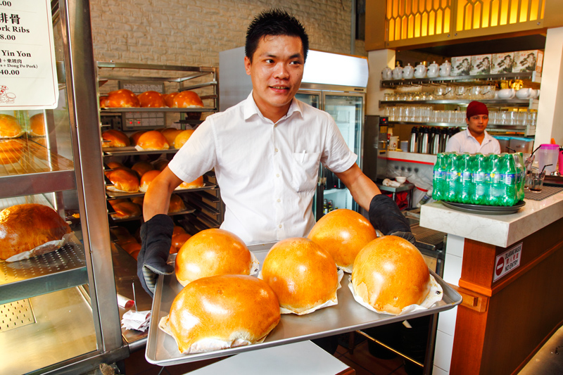 lucky king bun seremban Fresh Buns