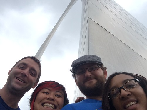 Arch Friends and My Favorite Museum Ever in St Louis. May 25 - 30, 2015.