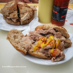 Portugal's traditional sandwich the bifana
