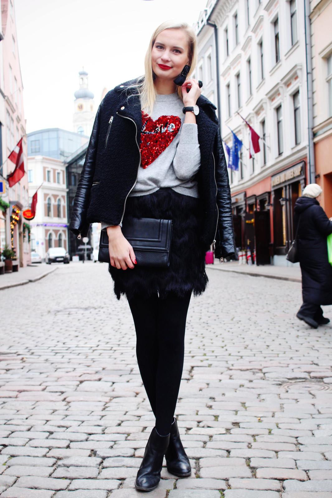 H&M and fashion blogger collaboration