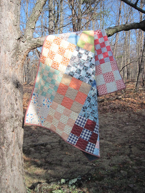 Great Grandmother's Patchwork - a Faith Circle Quilt