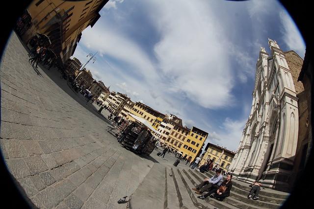 La Piazza, Canon EOS 60D, Canon EF 8-15mm f/4L Fisheye USM