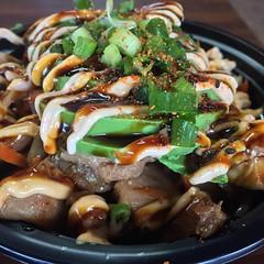 San Antonio bowl with beef bulgogi. Bob-O said it was delish. #korean #koreanfood #bulgogi #avocado #spicy