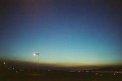 一直很喜歡日落後的藍調