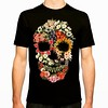 Floral Skull Vintage Black / Tshirts, prints, iPhone cases and more https://goo.gl/oBi6nn #tshirt #customtshirts #tshirtdesign#iphonecase #iphone6case#cheaptshirts #tee #graphictees #tshirts#tobiasfonseca #tobefonseca#cooldesigns #funnytshirts #cooltshirt