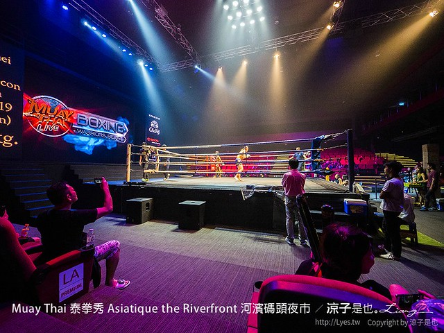 Muay Thai 泰拳秀 Asiatique the Riverfront 河濱碼頭夜市 38