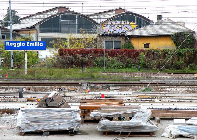 Reggio Emilia Bahnhof, Nikon COOLPIX P80