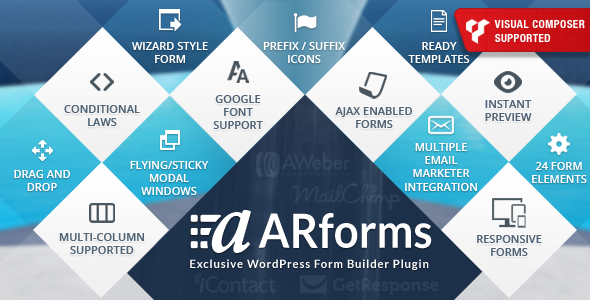 ARForms v2.7.8 - Wordpress Form Builder Plugin