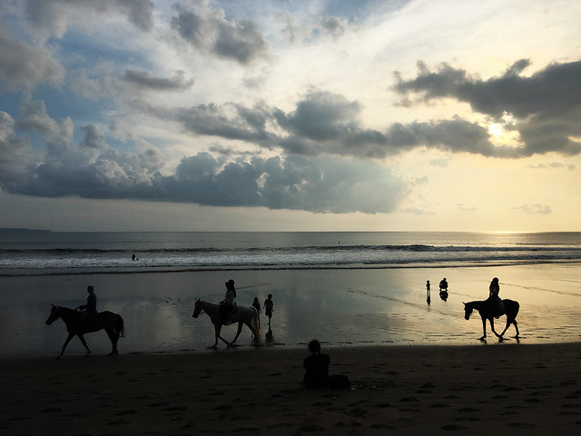 Horseback Riding at Kuta Beach