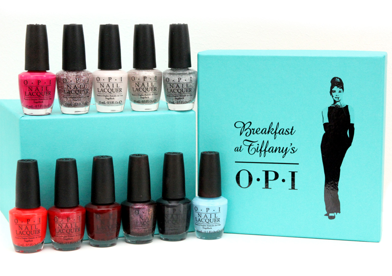 OPI breakfast at tiffany's