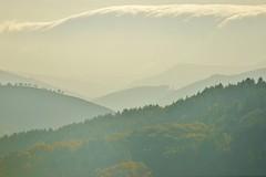 Sierra Salvada desde el monte Argalario