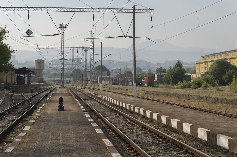Blagoevgrad railway station, 23.07.2015.