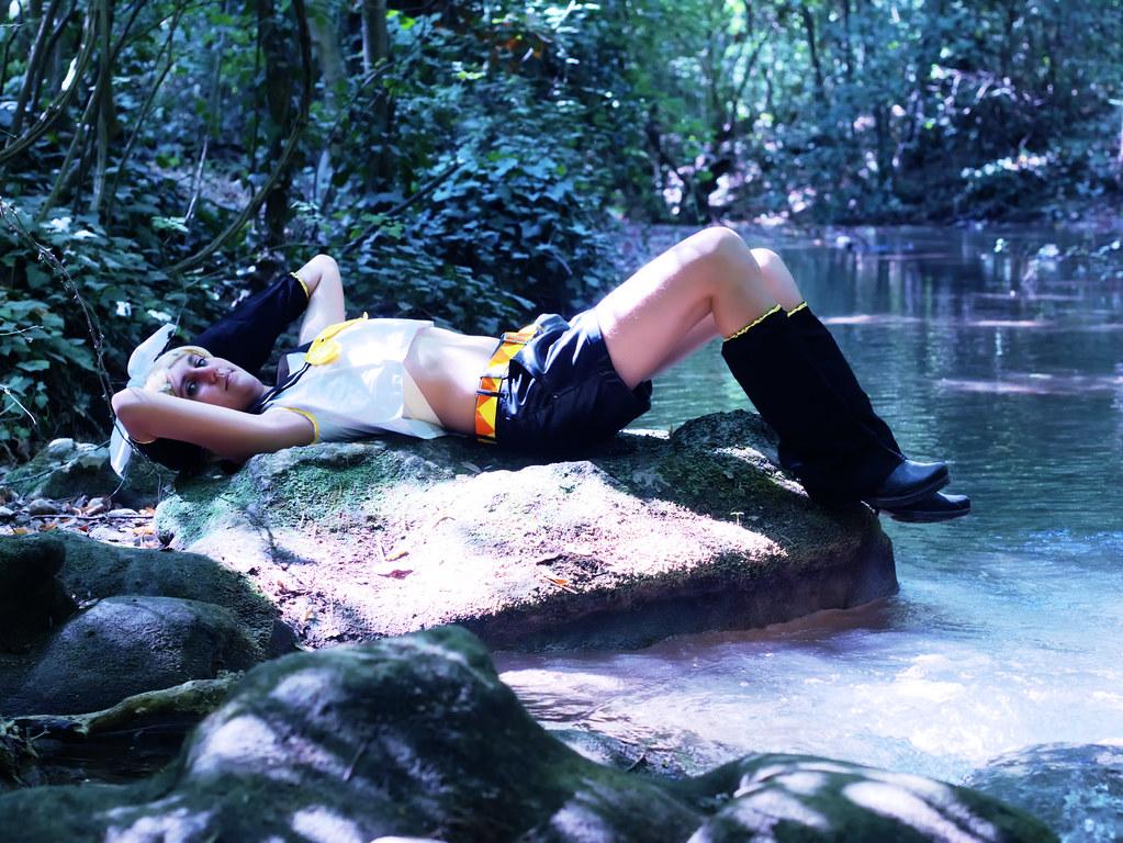 related image - Shooting Rin kagamine - Vocaloid - Parc de Saint Pons -Gemenos- 2015-08-05- P1170836
