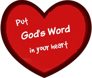 Put God's Word in our heart